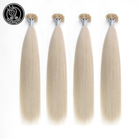 Fairy Remy Hair 16 Inch Real Remy Human Hair U Tip Extensions Blonde Colored Pre bonded Hair Extension 40g Per Package 0.8g/s