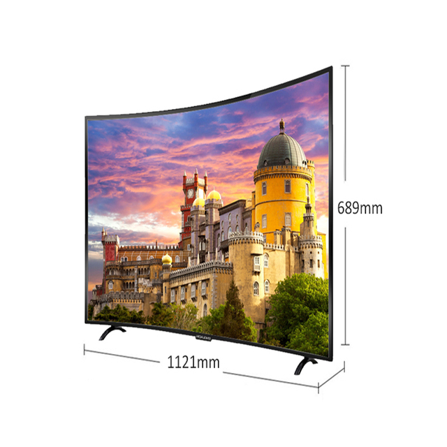 TV 50′ inch ENGLAON UA500SF led television smart TV UHD LED TV 4K Curved TV 49 TVs smart TV android 7.0 digital TV