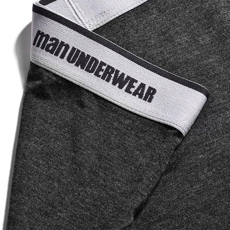 Shorts Modal Boxer Men Modal Underpants Brand Soft Boxers Shorts Perfect Men's Underwear Big Men Male Panties Y815