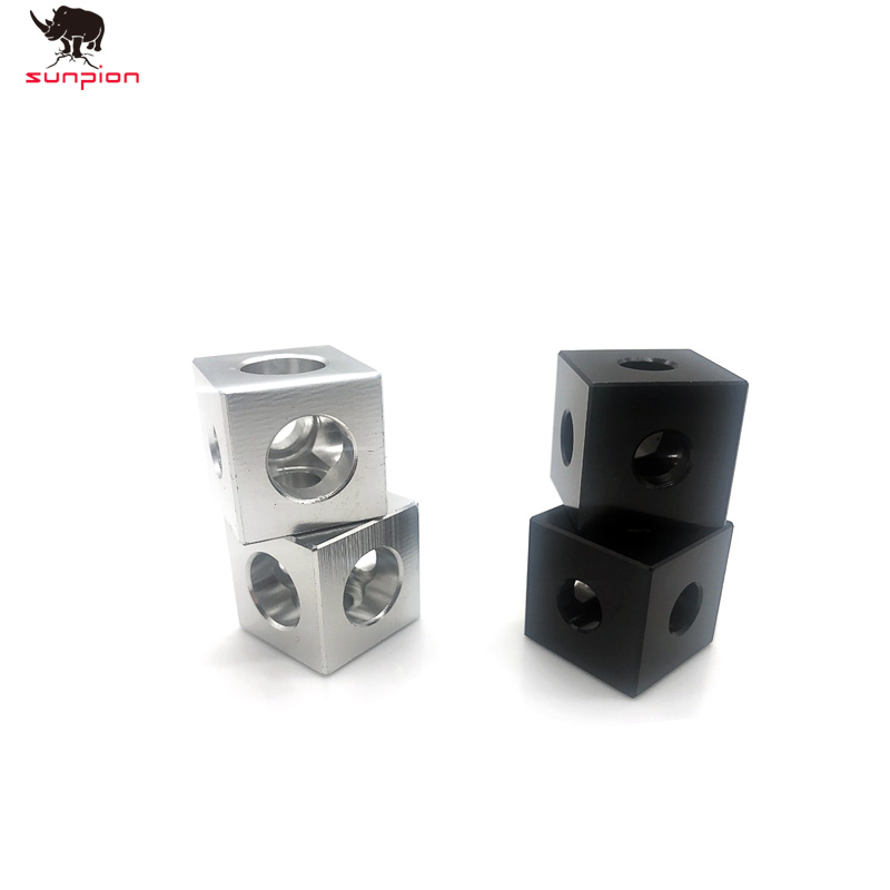 3D Printer Parts Openbuilds 2020 Aluminum Block Cube Prism Connector Wheel Regulator Cube Corner V-slot Three Way Corner Bracket
