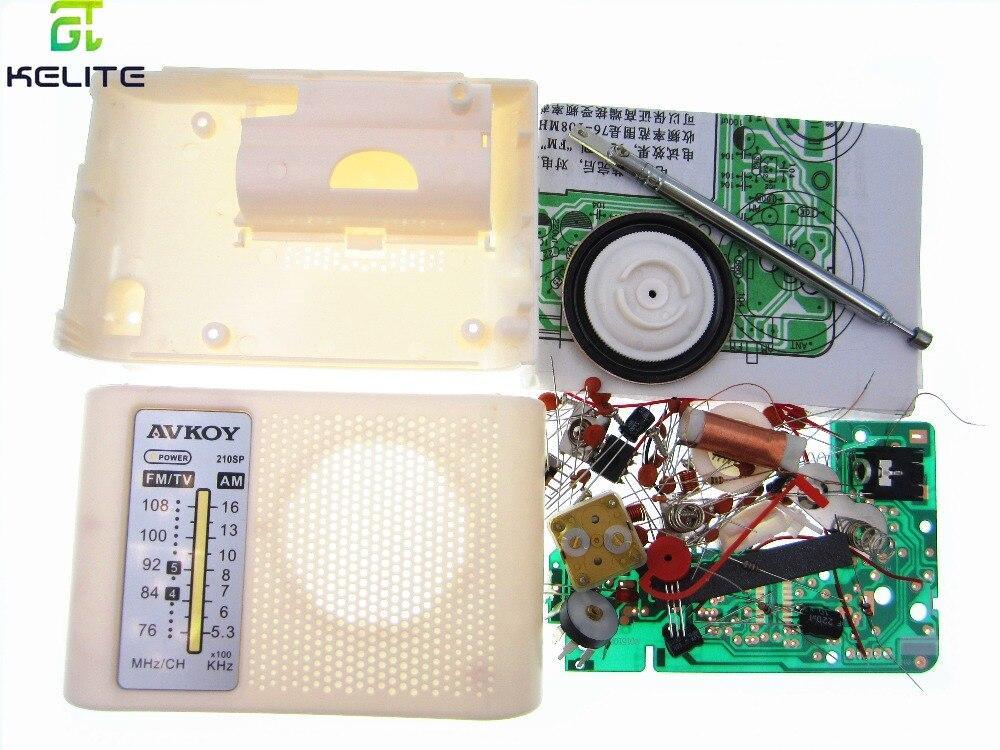 5et AM / FM stereo AM radio kit / DIY CF210SP electronic production suite