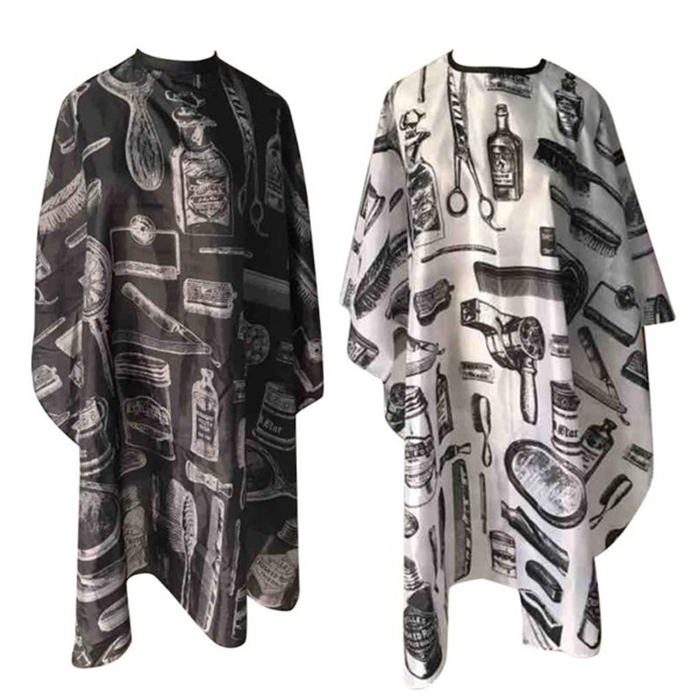Waterproof Anti-static Printed Haircut Cloth Hair Beauty Cape Hairdressing Apron Haircut Cape barber cape Hairdresser Apron(China)