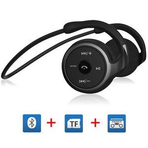 Image 1 - Bluetooth אוזניות אלחוטי אוזניות סטריאו על אוזן V5.0 אוזניות עבור ספורט ריצה דיבורית שיחות עם מיקרופון