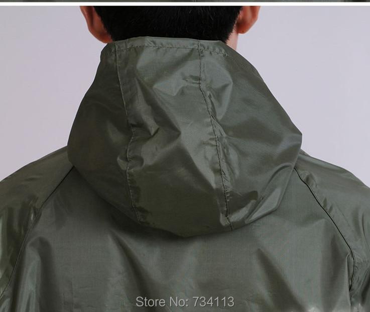 Μακρύ αδιάβροχο poncho για 160-180cm εντάξει - Οικιακά είδη - Φωτογραφία 4