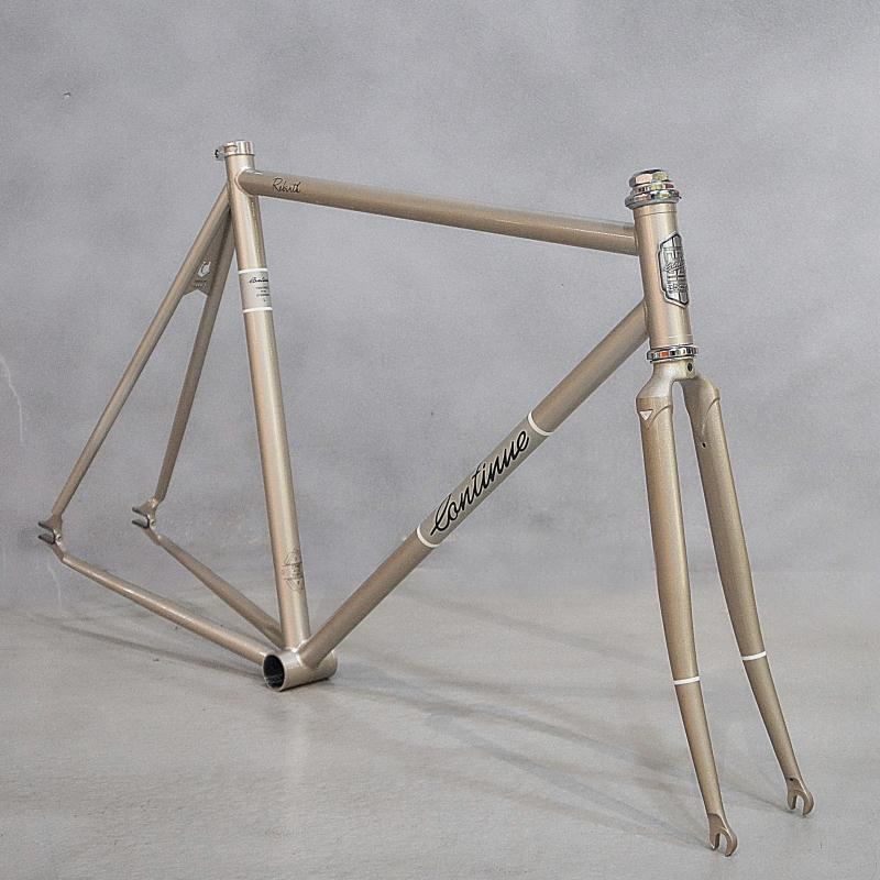 Chrome molybdenum steel frame 52 cm 54 cm  fixed gear bike restoring  road bike frame 700 C   Fixed Gear Bike frame цена и фото