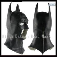 Batman Mask for CS:GO Returns vs Superman The Dark Knight Latex Full Mask Hood Silicone Halloween Party Black Cosplay Avengers
