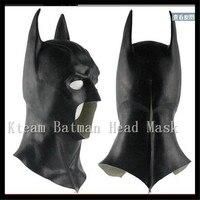 Batman maske für cs: gehen rückkehr vs superman the dark knight latex vollmaske haube silikon halloween party schwarz cosplay avengers
