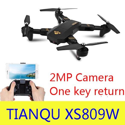 XS809W XS809HW Camera Drones Self Mini Foldable Air Selfie Drone RC Quadcopter RTF WiFi FPV Camera Altitude Hold Vs Eachine E58