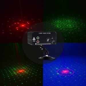 Image 5 - Atotalof LED RGB Luz de escenario 48 patrón remoto/sonido DJ Disco luz para KTV fiesta en casa Proyector láser de Navidad luz