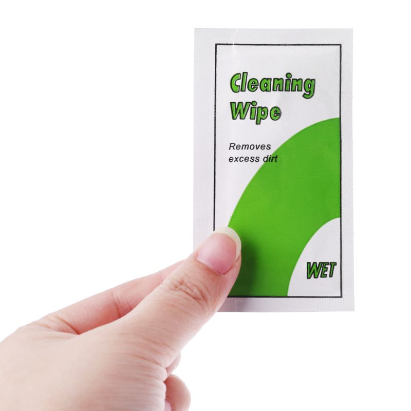 Screen Cleaning Wipes Dust Removal Tool Alcohol Wet Paper For Computer Phone Glasses Cleaning