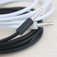 1M Male to Male Jack AUX 3.5mm Audio Cable For iphone 4 4S 5 5s 6 6s For iPad MP3 MP4 CD DVD TV PC MUSIC PLAYER IN THE CAR