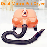 Large Dryer For Pets Dog Blow Dryer With Dual Motor Hair Blower For Grooming 2800w Fast Drying In 10 Minutes