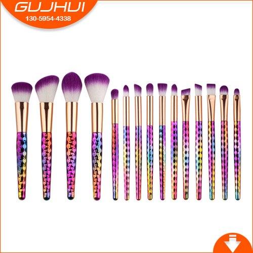 15 Cellular Makeup Brush Sets, Make-up Tools, Make-up Beauty, Eye Brush, GUJHUI Rhyme 7 unicorn makeup brush sets beauty tools new sets sweeping new gujhui rhyme