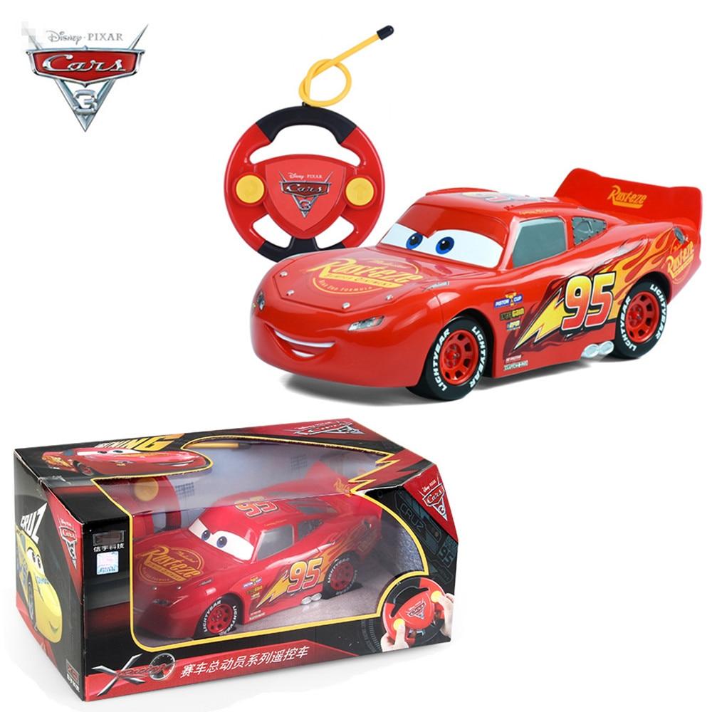 2017 New Disney Pixar Lightening Macqueen RC Car Cars 3