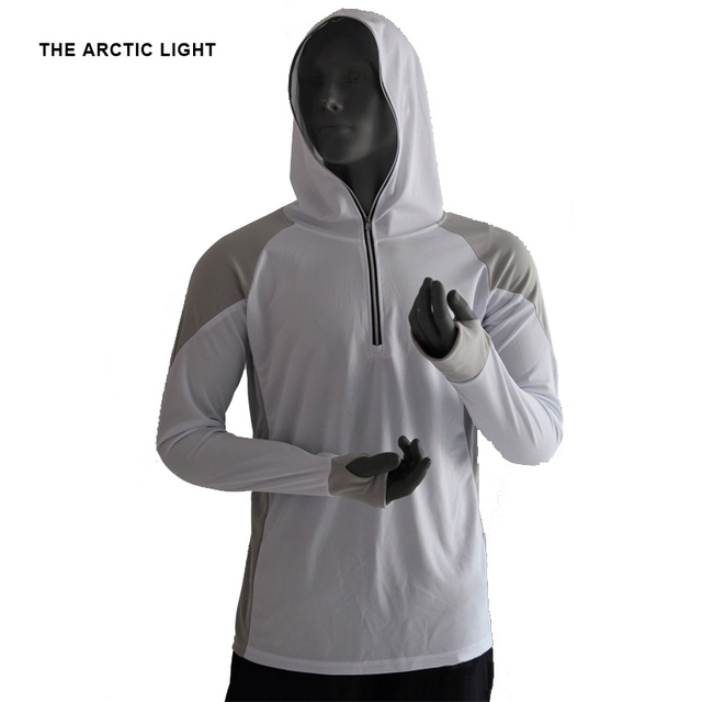 THE ARCTIC LIGHT Shirts Hooded 4