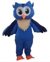 Owl Mascot Costume Custom Mascot Carnival Fancy Dress Costumes School College Halloween Mascot for Adult