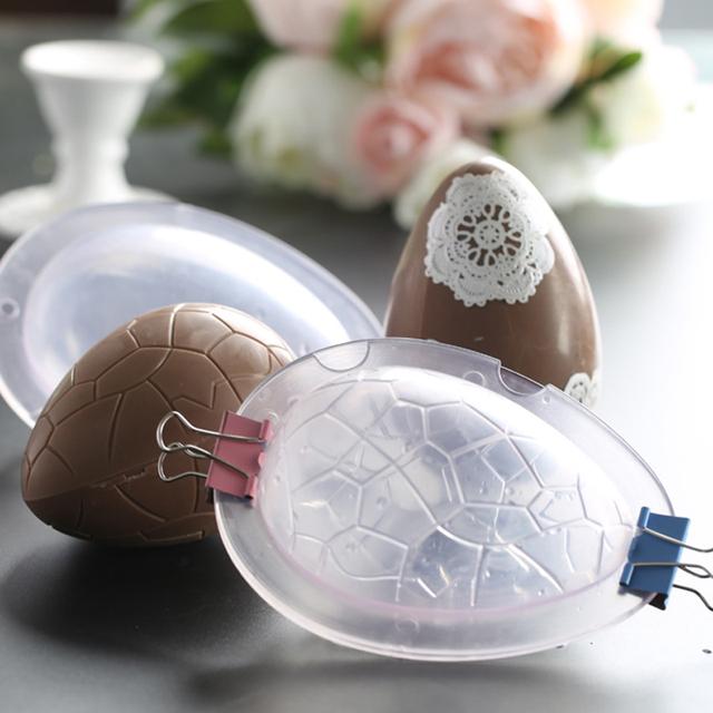 Acrylic 3D Easter Eggs Chocolate Mold