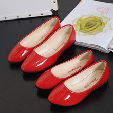 Parent-child Shoes Mother New Spring-summer Childrens Girl Student Princess Leather