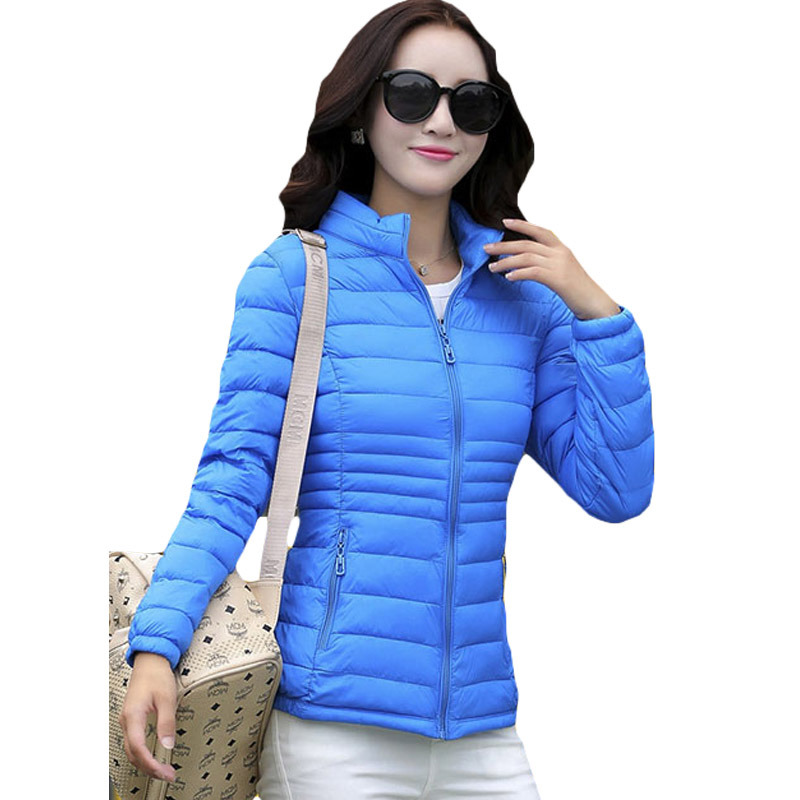 Thin Style Lightweight Warm   Parkas   Autumn Winter Outerwear Women Female Short Slim   Parkas   Big Size Cotton Wadded Jackets XH677