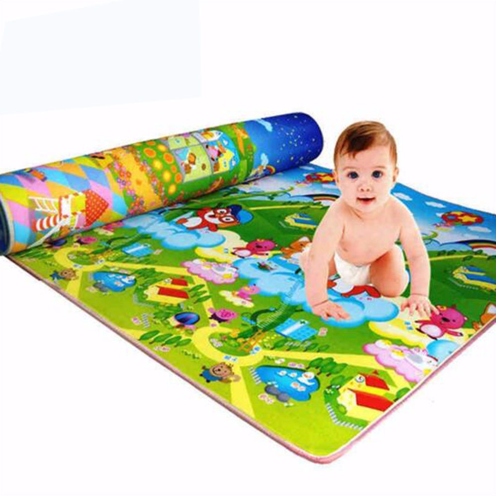 Baby Soft Developing Crawling Mat Foam Floor Children Activity Mat Kids' Rug Toys Carpet Infant Cartoon Letters 1