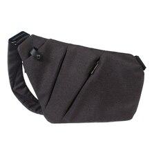Men Crossbody Sling Bag Waterproof Shoulder Chest Back Pack Anti Theft Sash  Bags Pouch B2Cshop( a2bde59d6bc9