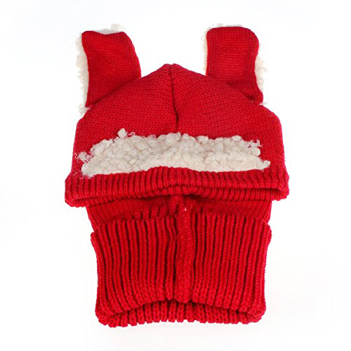 baby girls winter kids warm wool scarf boys Coif Hood Caps Hats - Red coif in фен evax1r 2300w