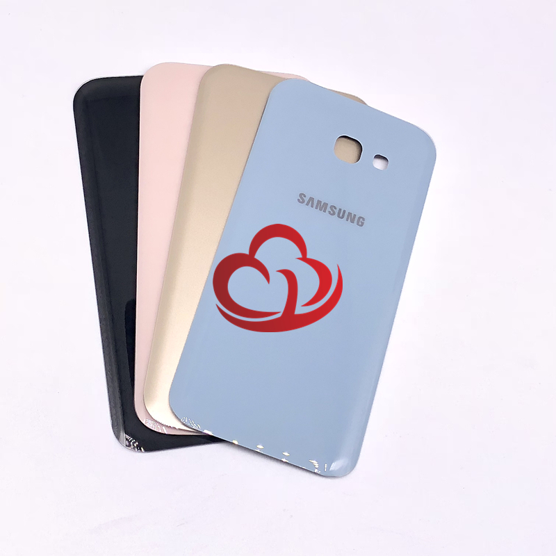 Back Battery Cover Housing For <font><b>Samsung</b></font> <font><b>Galaxy</b></font> A3 <font><b>A5</b></font> A7 2017 A320 A520 A720 A320F <font><b>A520F</b></font> A720F Rear cover image