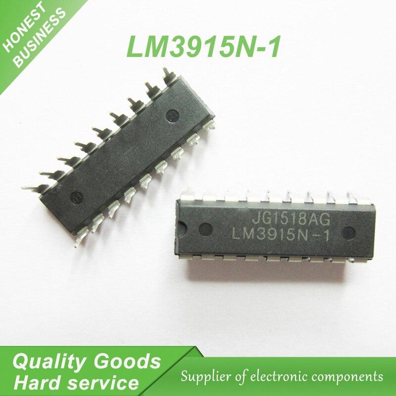 5PCS LM3915 LM3915N LM3915N-1 IC DRIVER DOT BAR DISPLAY 18-DIP NEW