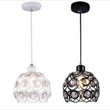Modern minimalist restaurant chandelier crystal chandelier aisle porch Restaurant Bar personality hanging lamp wholesale
