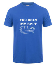 """You are in my Spot"" Sheldon Cooper T-shirt / 12 Colors"