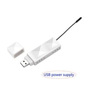 Image 5 - 200 m uhf hifi 디지털 무선 오디오 송신기 수신기 3.5 오디오 케이블 전화 컴퓨터 전력 증폭기