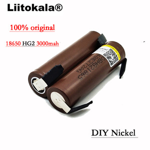 Image 2 - 2020 8 Pz/lotto Liitokala HG2 18650 3000mAh batteria 18650 HG2 di scarica 3.6V 30A, dedicato DBHG2 batterie + FAI DA TE Nichel