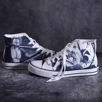 High-Q Unisex Anime una pieza Roronoa Zoro zapatos de lona zapatos Preppy estudiante zapatillas casuales 3D una pieza soga para calzado zapatos de suela