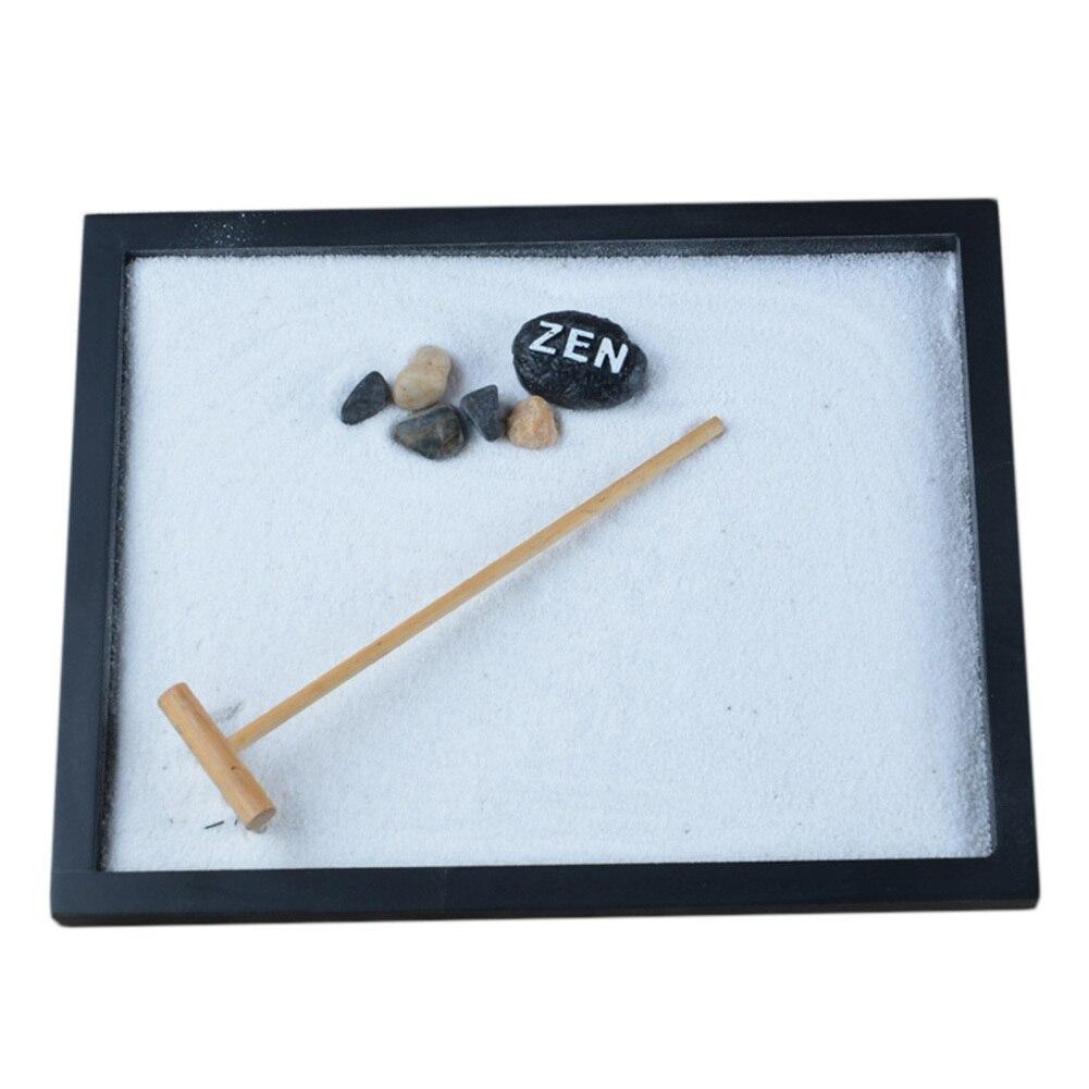 Aufwendig Statue Zen Garten Sand Meditation Ruhige Entspannen Decor Set  Spirituelle Zen Garten Kit Dekoration Set