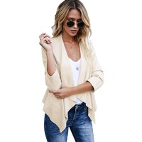 Hot Sale Autumn And Winter New European and American Irregular Temperament Small Jacket