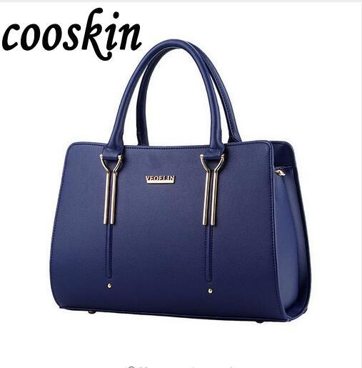 Women Bags Casual Tote Women PU Leather Handbags 2017 New Shoulder Bags Women s big Messenger