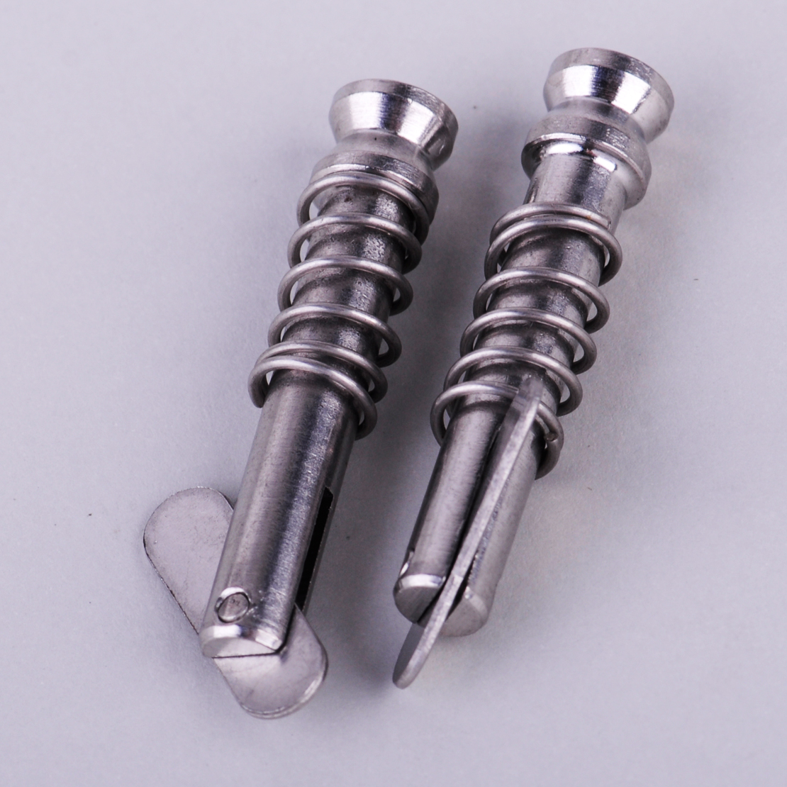 Full 316 Stainless Steel 1 inch Usable Length 6 Pack Boat Bimini Top Quick Release Pin 1//4 inch 10mm Diameter