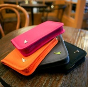 multifunctional travel purse storage short design passport bag clip wallet full