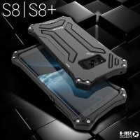 For Samsung G9500 S8 R JUST Phone Cases Gundam Series Shockproof Aluminum Case For Samsung Galxy