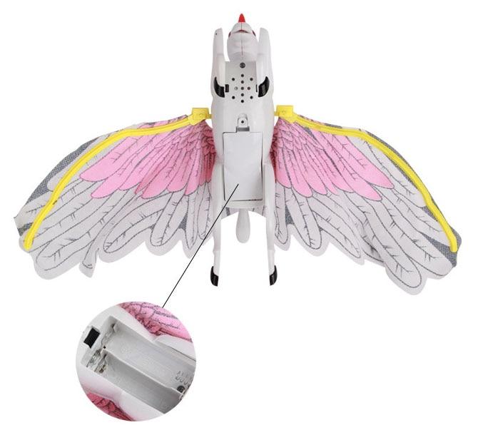 Nouveauté Flash Simulation Électrique Flying Eagle Bird Rotation - Jouets électroniques - Photo 2