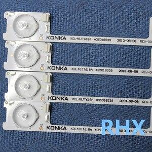 Image 5 - 20 Chiếc Đèn Nền LED Thanh Dải Cho Konka KDL48JT618A/KDL48SS618U 35018539 6 Đèn LED (6 V) 442 Mm 100% Mới