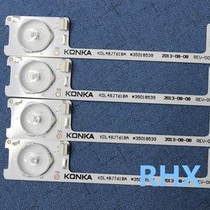 Image 5 - 20PCS   LED backlight bar strip for KONKA KDL48JT618A/KDL48SS618U 35018539 6 LEDS(6V)   442MM   100%NEW
