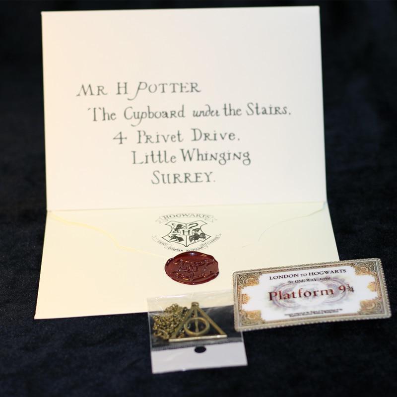 Hot 3PCS/Set Movie Harri Potter Necklace Admission...