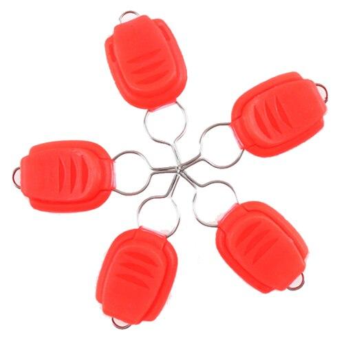 ILURE 5 шт./компл. ABS Карта линии устройства барабаны капли воды колеса Выделенные карты устройства для рыбалки аксессуары Цвет: красный
