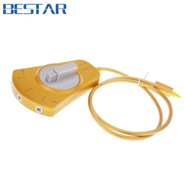 Adaptador de Cabo de áudio Óptico TOSlink 3 Way Splitter Switcher Selector Hub 1 entrada para 3 saída, Frete Grátis