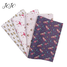 JOJO BOWS 22*30cm 1pc Faux Synthetic Leather Fabric Girl Cro