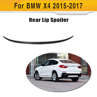 Carbon Fiber car rear boot lip wing spoiler for BMW F26 X4 2015 2017