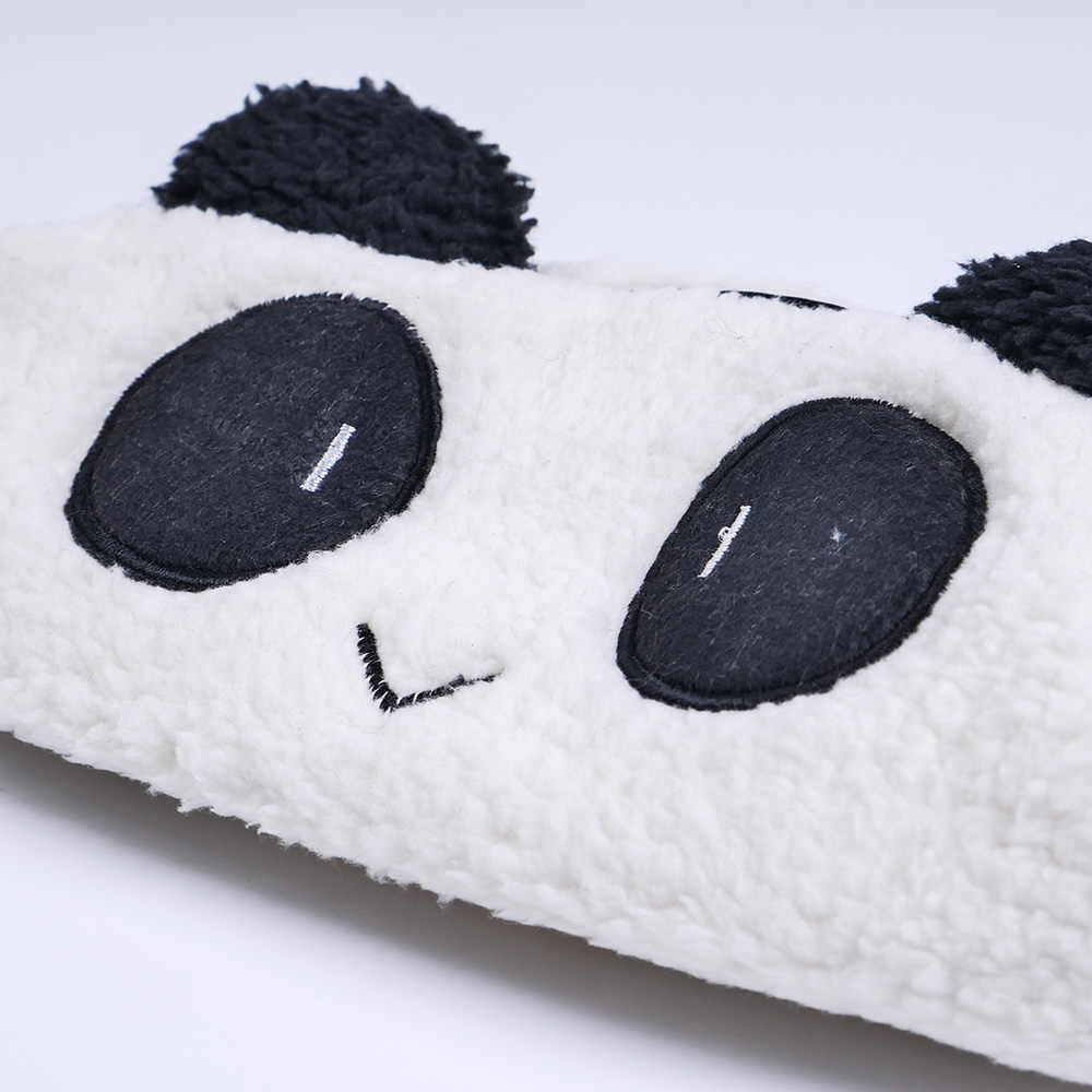 Pencil case Cute kawaii 3D plush panda pencil case large capacity school supplies novelty item for kids multifunctional