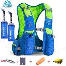 AONIJIE Для мужчин Для женщин 10 л марафона Велоспорт рюкзак с 2L рюкзак воды мочевого пузыря Сумка Открытый Кемпинг Пеший Туризм Сумка