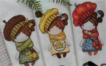 The magic girl cross stitch package cartoon doll baby 18ct 14ct 11ct cloth cotton thread embroidery DIY handmade needlework(China)